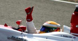 Lewis Hamilton Royalty-vrije Stock Afbeeldingen