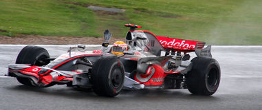 Lewis Hamilton Stock Afbeelding