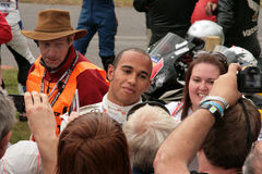 Lewis Hamilton Fotos de Stock Royalty Free