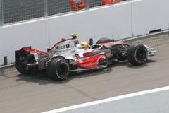 Lewis Hamilton Foto de Stock