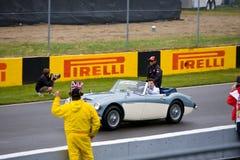 Lewis Hamilton au prix grand de Montréal Photos libres de droits