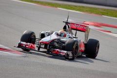 Lewis Hamilton F1 2011 - Mclaren - Obrazy Stock