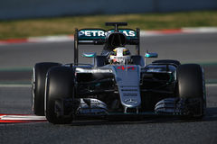 Lewis Hamilton (GBR), AMG Mercedes F1 Team, F1 testing Barcellon. A 2016 Stock Photo