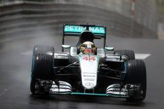 Lewis Hamilton (GBR), AMG Mercedes F1 Team, 2016 Monaco Gp.  Stock Photography