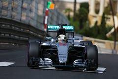 Lewis Hamilton (GBR), AMG Mercedes F1 Team, 2016 Monaco Gp, free. Practice Stock Images