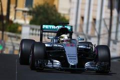 Lewis Hamilton (GBR), AMG Mercedes F1 Team, 2016 Monaco Gp, free. Practice Stock Photo