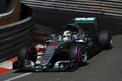 Lewis Hamilton (GBR), AMG Mercedes F1 Team, 2016 Monaco Gp, free. Practice Stock Image