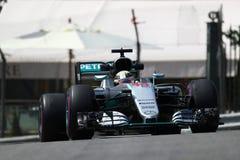 Lewis Hamilton (GBR), AMG Mercedes F1 Team, 2016 Monaco Gp, free. Practice Royalty Free Stock Photo