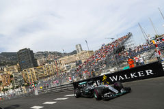 Lewis Hamilton (GBR), AMG Mercedes F1 Team, 2016 Monaco Gp, free. Practice Stock Photography