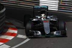 Lewis Hamilton (GBR), AMG Mercedes F1 Team, 2016 Monaco Gp, qual. Ifyng Stock Photography