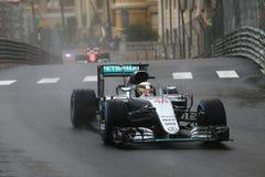 Lewis Hamilton (GBR), AMG Mercedes F1 Team, 2016 Monaco Gp. Race Royalty Free Stock Photo