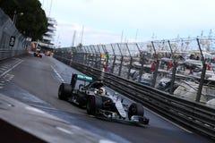 Lewis Hamilton (GBR), AMG Mercedes F1 Team, 2016 Monaco Gp. Race Royalty Free Stock Images