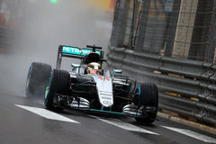 Lewis Hamilton (GBR), AMG Mercedes F1 Team, 2016 Monaco Gp. Race Royalty Free Stock Photos