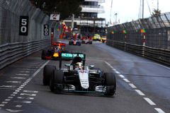 Lewis Hamilton (GBR), AMG Mercedes F1 Team, 2016 Monaco Gp. Race Stock Images