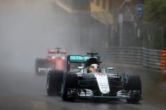Lewis Hamilton (GBR), AMG Mercedes F1 Team, 2016 Monaco Gp,. Race Royalty Free Stock Photo
