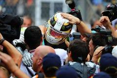 Lewis Hamilton (GBR), gruppo di AMG Mercedes F1, Gp 2016 del Monaco, Immagine Stock