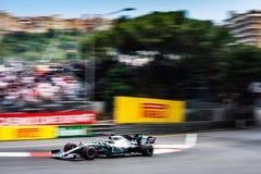 #44 Lewis HAMILTON GBR, Mercedes, W10 at Sainte Devote corner