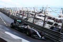 Lewis Hamilton (GBR), Team AMG Mercedes F1, Monaco Gp 2016 Lizenzfreies Stockbild