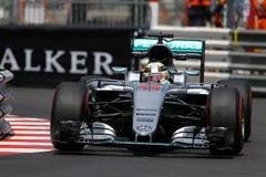 Lewis Hamilton (GBR), Team AMG Mercedes F1, Monaco Gp 2016, qual Stockfotografie