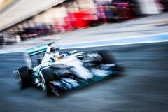Lewis Hamilton, Jerez - 2015 Zdjęcia Royalty Free