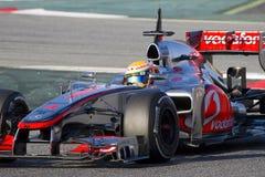 Lewis Hamilton McLaren Royalty Free Stock Images
