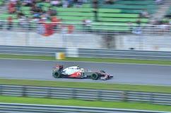 Lewis Hamilton McLaren-Mercedes Immagini Stock Libere da Diritti
