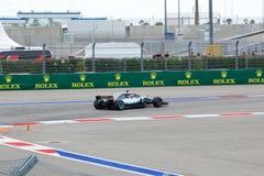 Lewis Hamilton of Mercedes AMG Petronas. Formula One. Sochi Russia. Sochi, Russia - September 30, 2018: Lewis Hamilton of Mercedes AMG Petronas F1 team racing stock photography