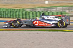 Lewis Hamilton (Mercedes McLaren) Royalty Free Stock Images