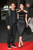 Nicole Scherzinger,Lewis Hamilton Stock Photo