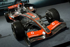 Lewis hamilton's mclaren mp4-21. F1 racing car Royalty Free Stock Image