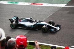 Lewis Hamilton-Sieger in Monza F1 Grandprix 2018 stockfoto