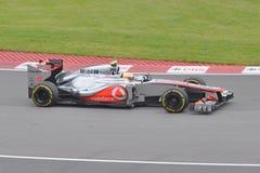 Lewis Hamilton win 2012 F1 Canadian Grand Prix Royalty Free Stock Photos