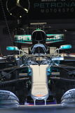 Lewis hamiltons Formula 1 car. Lewis hamiltons Mercedes Formula 1 car british grand prix Stock Photos