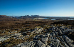 Lewis and Harris Landscape Royalty Free Stock Photo
