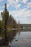 Lewis Lake Reflection Royalty Free Stock Photo
