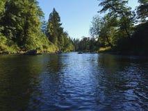 Lewis rzeka Zdjęcia Stock