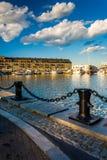 Lewis Wharf, in Boston, Massachusetts. Stock Photography