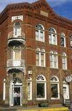 Lewisburg histórico, WV a lo largo de la ruta 60 de los E.E.U.U. Imagenes de archivo