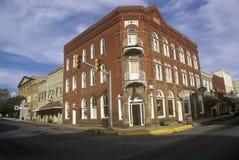 Lewisburg storico, WV lungo l'itinerario 60 degli Stati Uniti Fotografia Stock