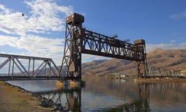 Lewiston桥梁 免版税库存照片
