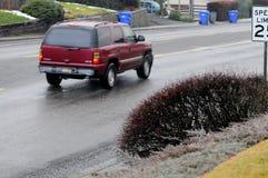 LEWISTON谷天气雨天 库存图片