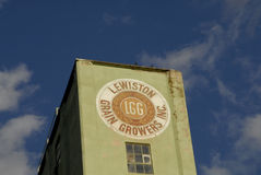 LEWISTON-GETREIDEBAUERN INC. Lizenzfreie Stockbilder