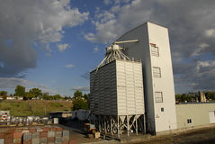 LEWISTON GRAIN GROWERS INC. Lewiston /Idaho /USA- 25 May 2016_  Lewiston grain grower inc.historical building and work place               / Photo. Francis Stock Photo