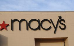 MACY`S STORE IN LEWISTON MALL IDAHO. LEWISTON/IDAHO/USA 21 December  2017.    _Macy`s store in maill .    Photo.Francis Dean/Dean Pictures Stock Photo