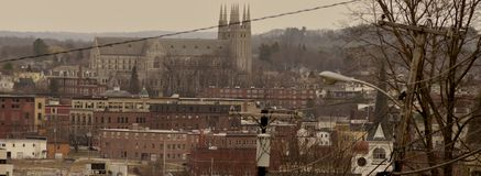 Lewiston skyline Royalty Free Stock Photos