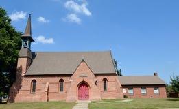 Lewistown kyrka royaltyfri foto