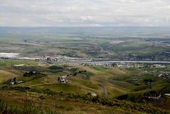 LEWSITON DOLINNY widok OD LEWISTON wzgórzy Obraz Royalty Free