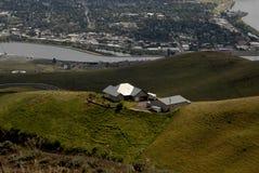 LEWSITON从LEWISTON小山的谷视图 图库摄影