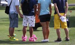 Lexi Thompson en el torneo 2015 del golf de la inspiración de la ANECDOTARIO foto de archivo