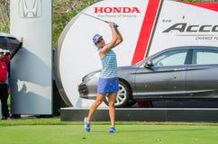 Lexi Thompson of USA champion of Honda LPGA Thailand 2016 Royalty Free Stock Photography